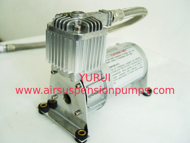 130 PSI 12V Silver Inline Check Valve Airbag Air Compressor Chrome Material