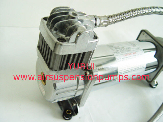 150PSI Chrome 1.75CFM Heavy Duty Portable Air Shock Compressor 12v With Air Tank