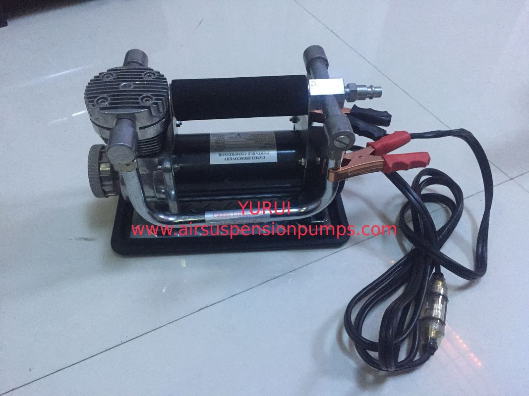 Heavy Duty Black Air Compressor For All Types Of Car Fast Inflation With CE Certificate