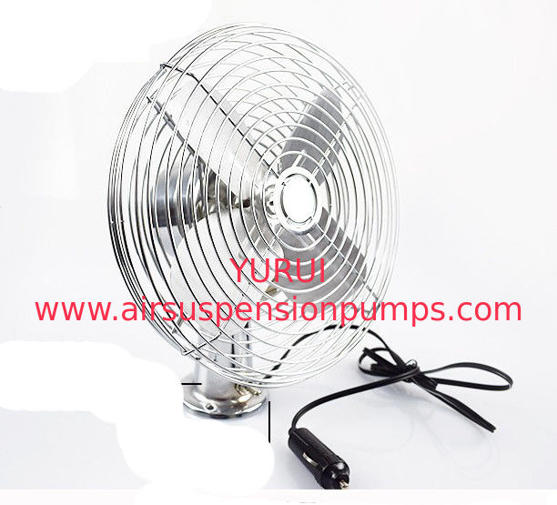 12 Volt Mini Automotive Electric Cooling Fans Full Safety Metal Guard