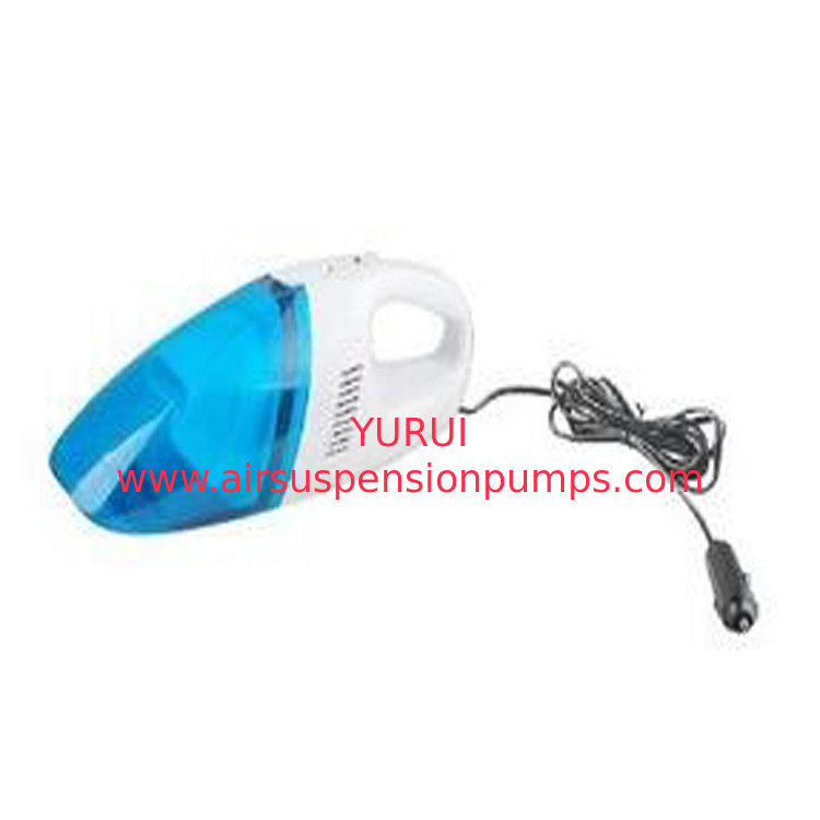 Oem Auto Handheld Portable Vacuum Cleaner Plastic Material In Blue Color