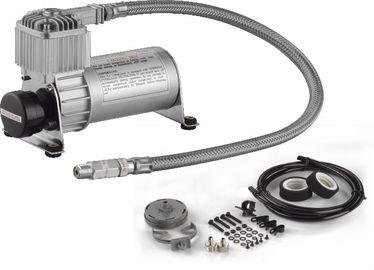 Compressore motorizzato di giro nero e d'argento dell'aria con la cassa d'aria veloce di funzione della pompa