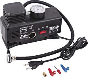 Il nero portatile pratico corrente variabile della plastica del compressore d'aria della gomma di automobile